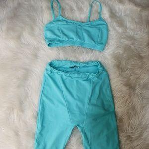 FashionNova Biker Shorts Set